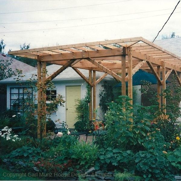 Great Pergola. Structures And Outdoor Furniture Built To ...